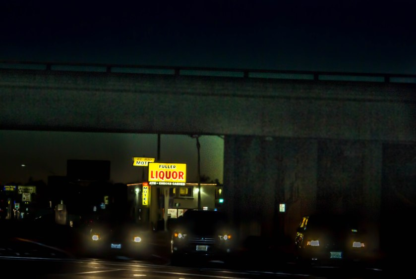 Don't judge a liquor store by it's overpass, or the bum with a bad ass box fort living under said overpass.