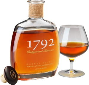 1792 Bourbon with Glass