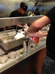 making margaritas chiptole