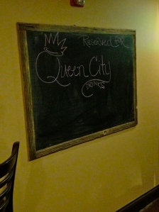Reserved for Queen City Drinks.