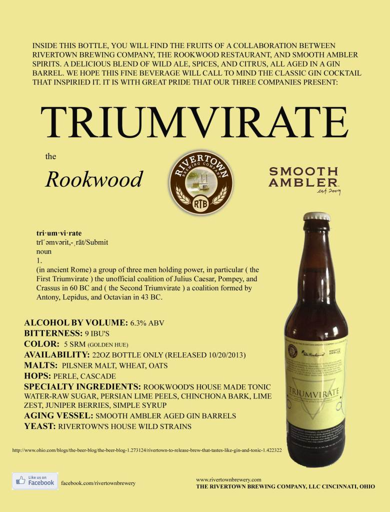 Rivertown Rookwood Smooth Ambler Triumvirate
