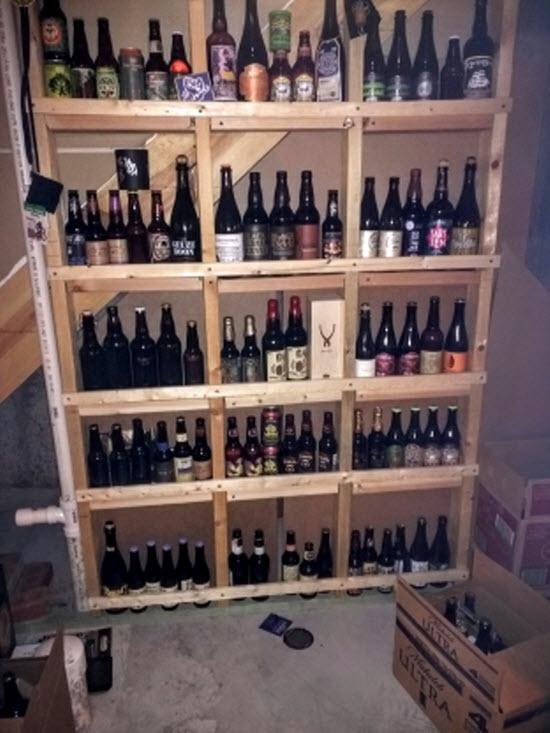cellaring beer